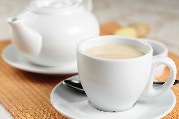 Чай с молоком идеален для борьбы с кашлем