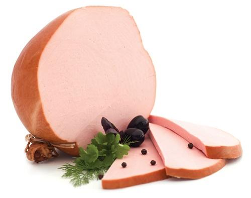 Качественная вареная колбаса