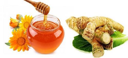 Мед с хреном при кашле при беременности на первом триместре