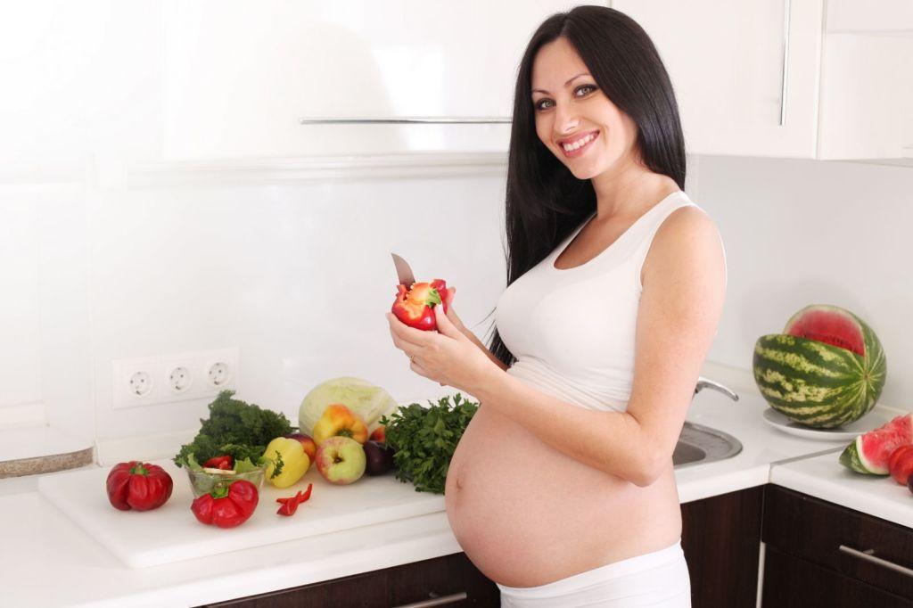 При незначительной старении плаценты назначают правильное питание
