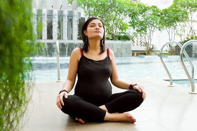 Верхнее дыхание для беременных