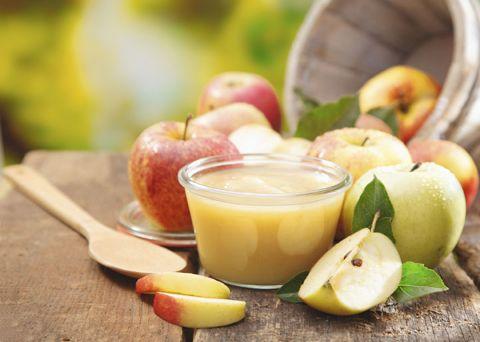 Пюре из яблок для грудного вскармливания