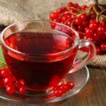 Чай и отвар из калины