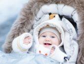 Прогулка с малышом в зимнее время