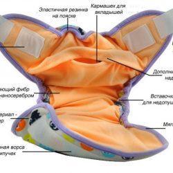 Многоразовые подгузники: что это и как ими пользоваться