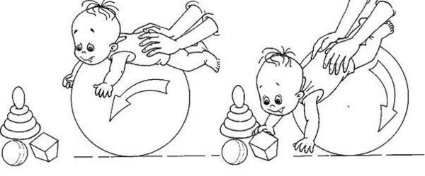 Упражнение с игрушкой