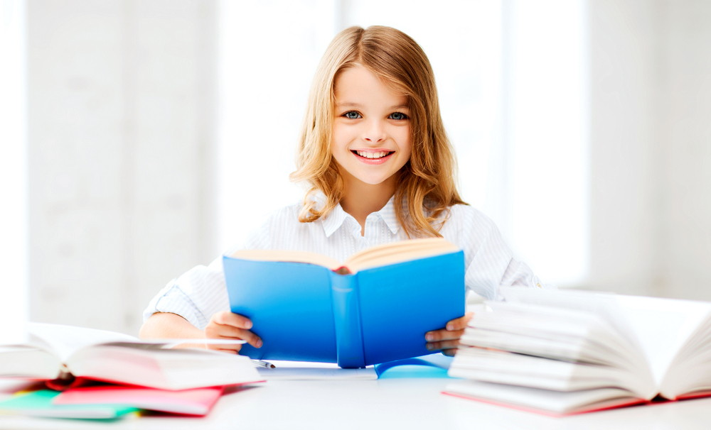 Девочка и книга