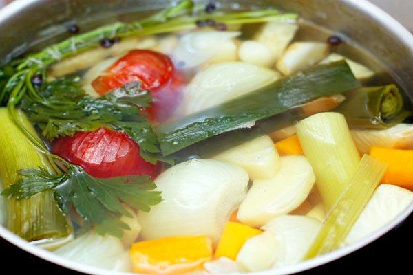 Овощной бульон для грудничка