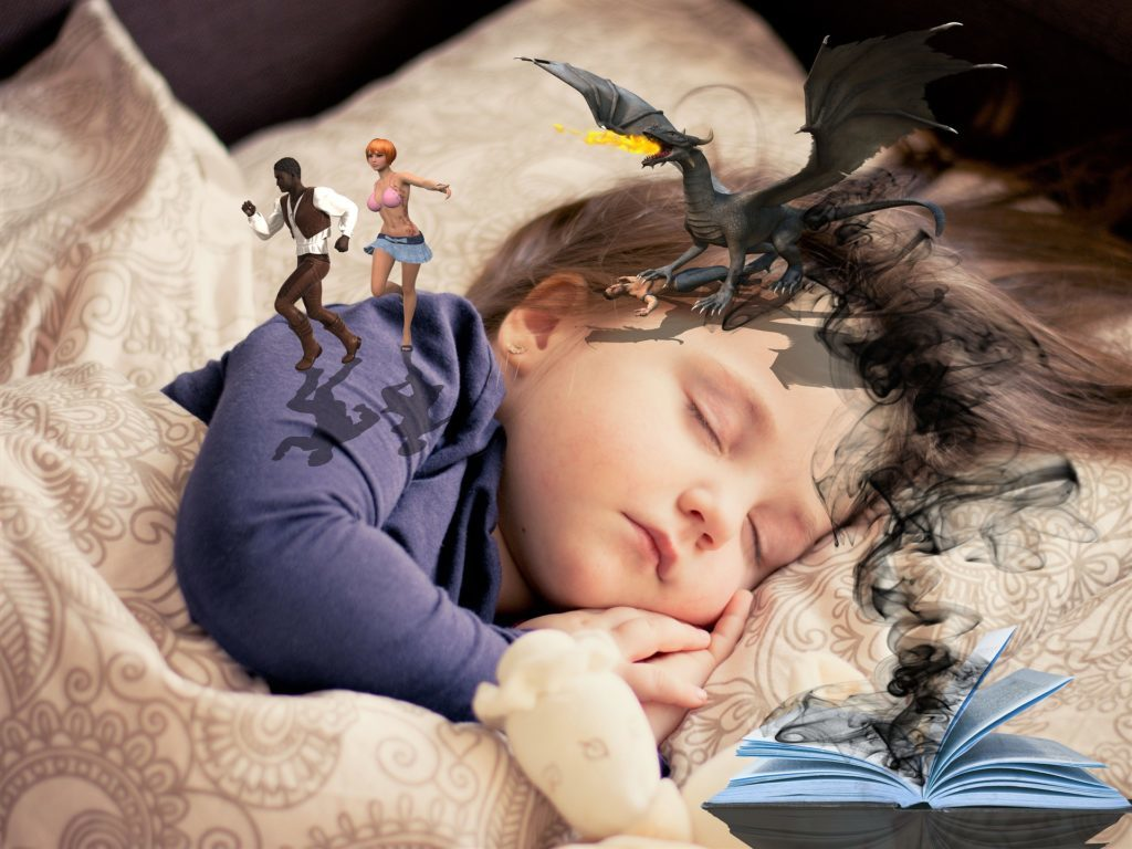 Ребёнку снится страшный сон