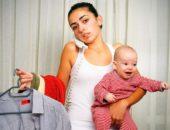 Некоторые молодые мамы озабочены стремительной потерей веса после родов