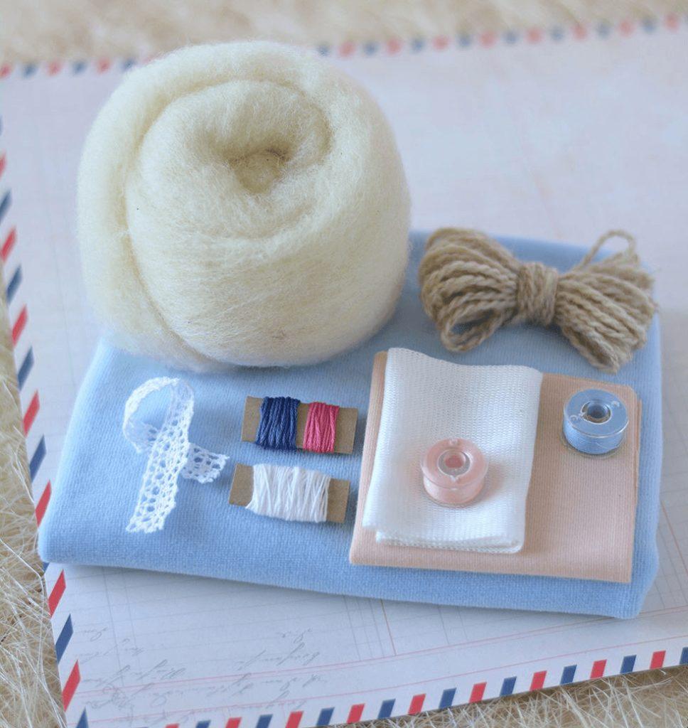 Материалы для изготовления куклы своими руками
