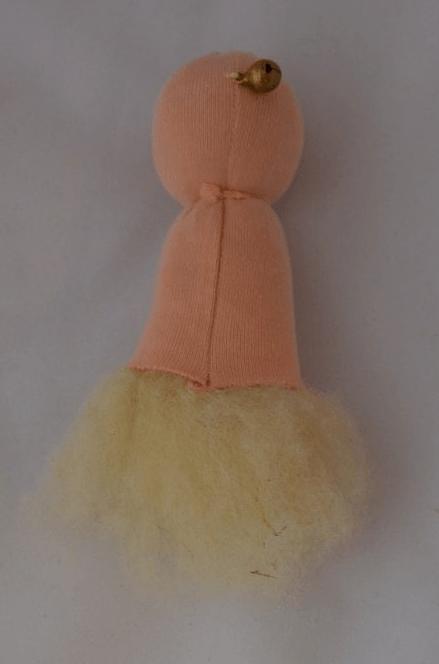 Голова куклы с бубенчиком
