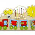 Бизиборд в виде поезда
