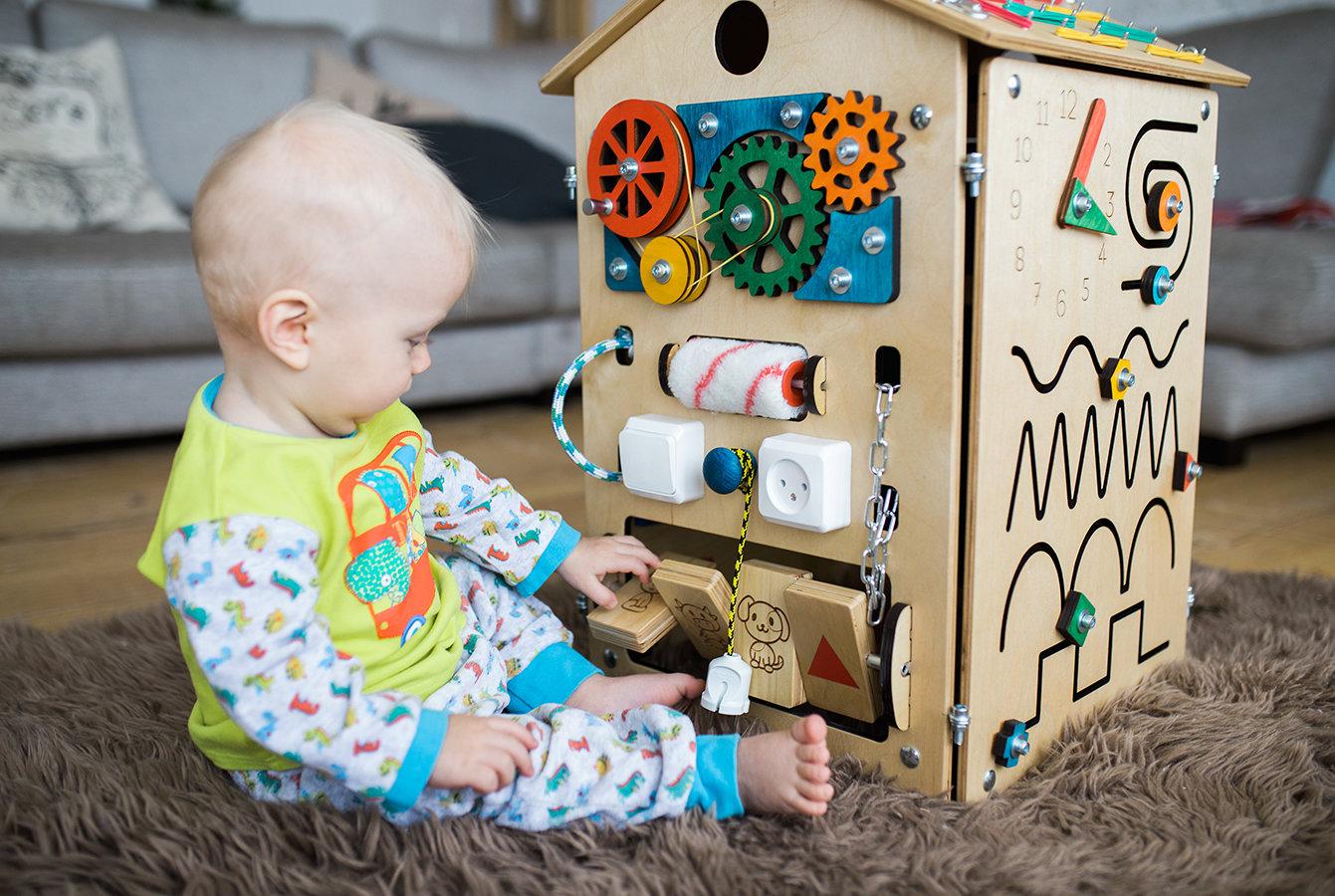 Бизиборд своими руками для детей для мальчиков