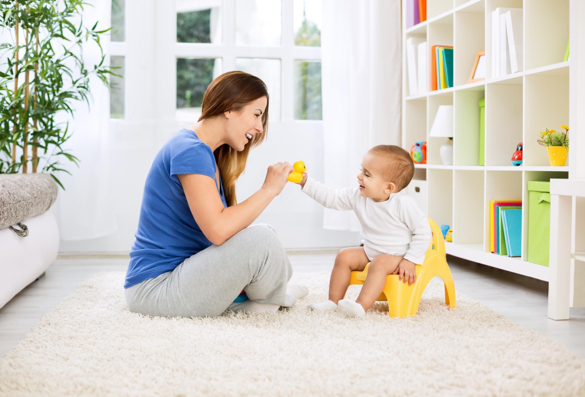 Как приучить ребёнка к горшку