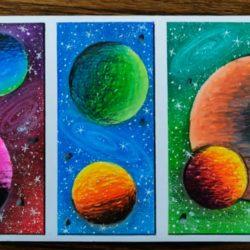 Галактика - рисунок