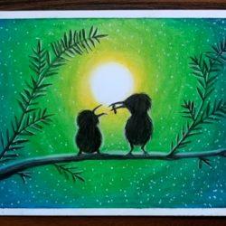 Мамина любовь — рисунок