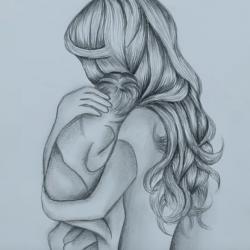 Рисунок на день мамы