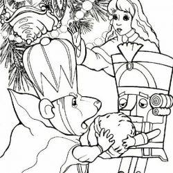 Щелкунчик - раскраски