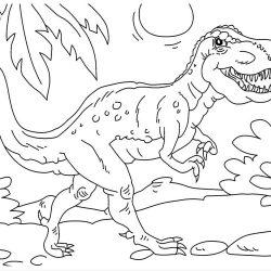 Динозаврики - раскраски