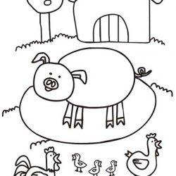 Домашние животные раскраски