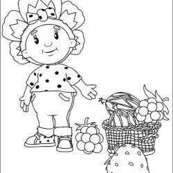 Фифи и малыши - раскраски