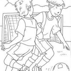 Футбол - раскраски
