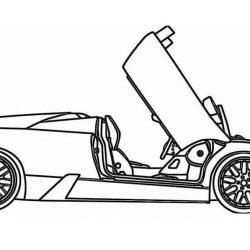 Гоночные авто - раскраски