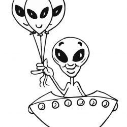 Инопланетяне - раскраски
