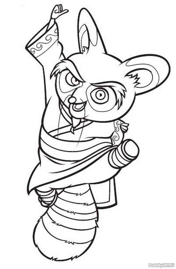 новом сценарии кунг фу панда раскраска кистью несколько сотен