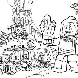 Лего - раскраски