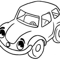 Машинки - раскраски