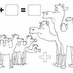 Математические - раскраски