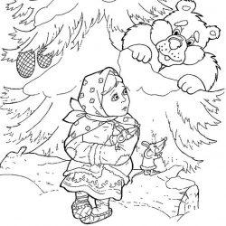 Мороз Иванович - раскраски