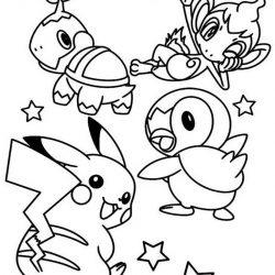 Покемоны - раскраски