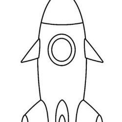 Ракеты - раскраски