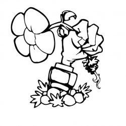 Растения против Зомби - раскраски