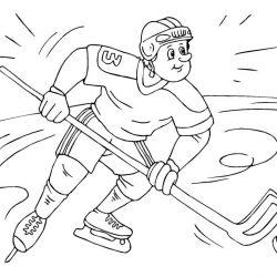 Спорт - раскраски