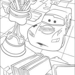 Тачки — раскраски 2 часть