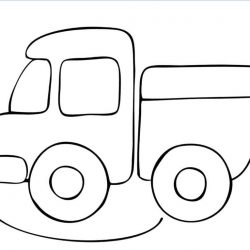 Транспорт - раскраски