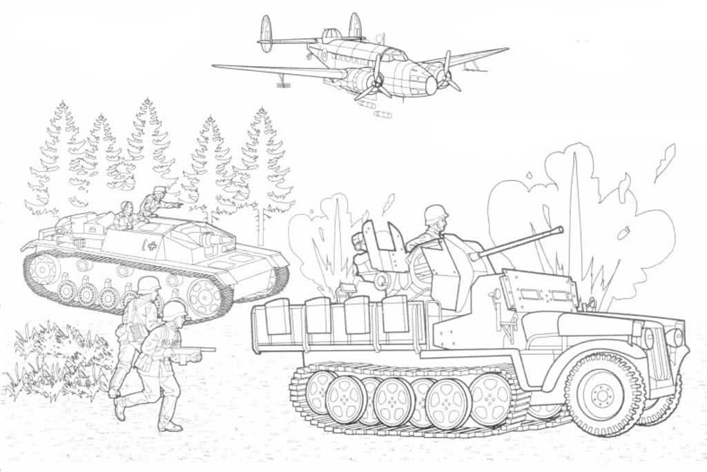 Картинки солдаты танки самолеты