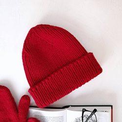 Вяжем шапку бинни