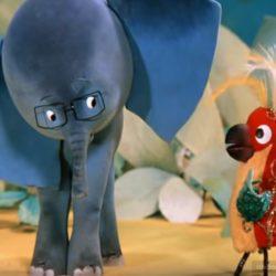Мультик 38 попугаев — Куда идет Слоненок