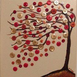 Идеи украшений из пуговиц своими руками