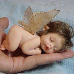 Идея поделки — куклы из полимерной глины