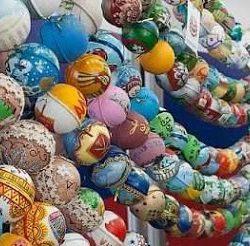 Идея поделки шар-папье