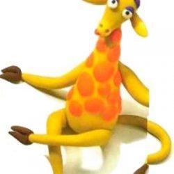 Поделка — жирафик из пластилина