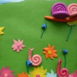 Веселое анимационное пособие по лепке из пластилина