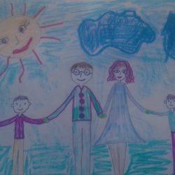 Рисунок - Моя семья