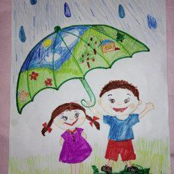 Рисунок - Пусть всегда будет солнце, пусть будет небо